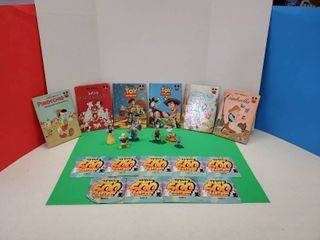 Disney Books Figurines DVD Cartoons Collection