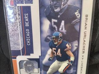 Brian Urlacher Chicago Bears Card