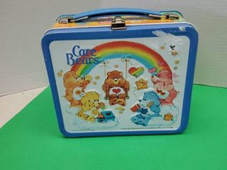 Care Bears Metal lunch Box W  Thermos