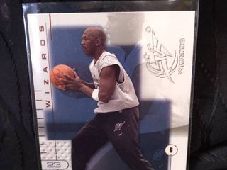 Michael Jordan Wizards Card