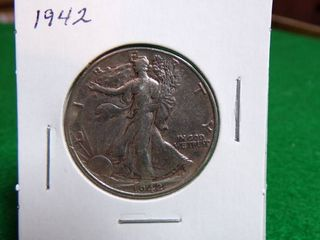 1942 WAlKING lIBERTY HAlF