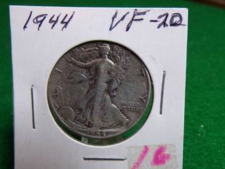 1944 WAlKING lIBERTY HAlF   VF20