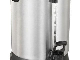 Proctor Silex   60 Cup Coffee Urn   Brushed Aluminum Black
