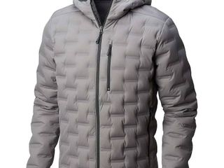 Mountain Hardwear Men s StretchDown DS Hooded Jacket   large   Manta Grey