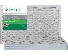 6  Air FilterBuy Merv 8   Silver 14x25x1 Air Filters