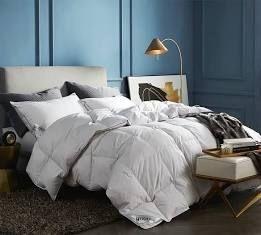 Rose Cose White Goose Down Comforter