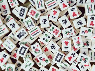 Mah Jongg Board Game