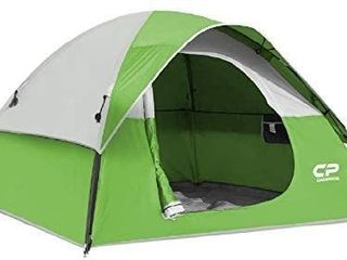 Generic 3 Person Dome Tent Red