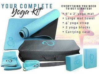 live Infinite Yoga Set  Blue