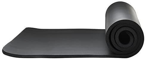Saganizer 5 8 inch Thick 72 inch by 24 inch Yoga Mat With Carrying Strap
