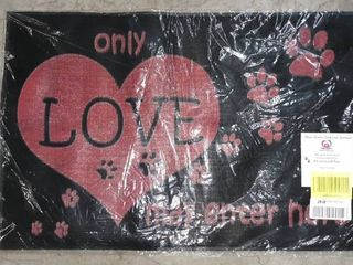 Only love May Enter Here Welcome Mat