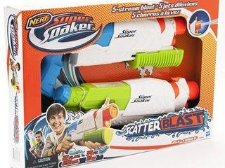 NERF Super Soaker Scatter Blast 2 Pack