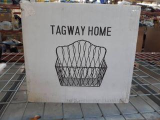 Tagway Home Metal Basket