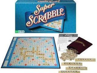 Super Scrabble Crossword Game Retail   89 95