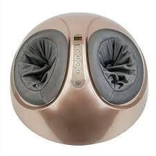 Zenergy Hub Shiatsu Foot Massager W heated Compression  portable  Spa quality