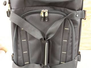 High Sierra Volusia 22  Carry On Upright Wheeled Duffel  eBags Exclusive Retail   155 97