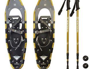 Flashtek Snow Shoes with Poles