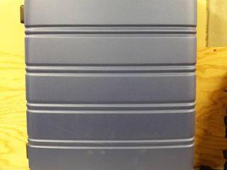 luggage Set 3 Piece Suitcase Travel Silver Upright Medium lightweight Hardside Retail   196 99