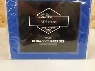 ADTWINS Twin Ultra Soft Sheet Set 1000 Premium Microfiber