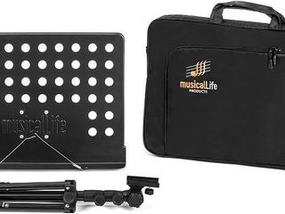 musicallife Products Music Stand with Carry Case