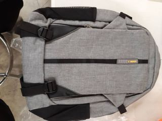 Z MGKISS Gray and Black Back Pack