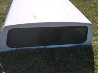 06 F250 Camper Shell