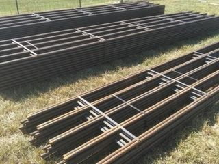 50 5 Bar Continuous Fence  Brand New