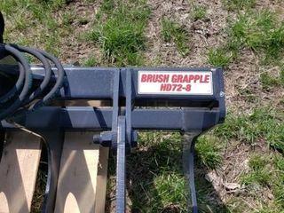 Stout Brush Grapple HD72 8 w Quick Attach