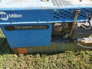 Miller AC DC Welder Power Gen Set