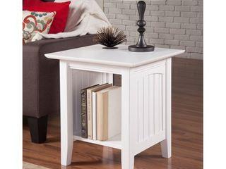 Nantucket End Table White  Retail 114 49