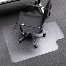 PVC Home Office Transparent Protective Mat for Floor Chair