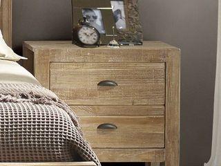 Grain Wood Furniture Montauk 2drawer Nightstand  Retail 225 49