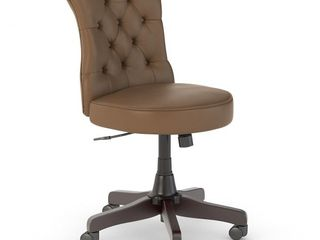 Bush Business Furniture Arden lane Mid Back Tufted Office Chair  Retail 229 99