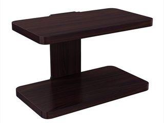 Wall Mount Espresso Wood Small Floating Shelf
