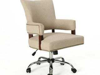 Bonaparte Traditional Home Office Chair by Christopher Knight Home  Retail 234 49