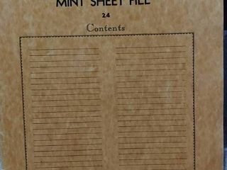 lot of 14 Assorted Stamp Sheets   Includes 20 Assorted Mint Stamp Sheets