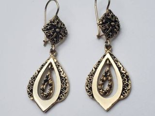 14K Yellow Gold Earrings   6 grams