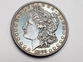 1883 P Morgan Silver Dollar Coin