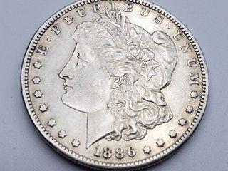 1886 S Morgan Silver Dollar Coin