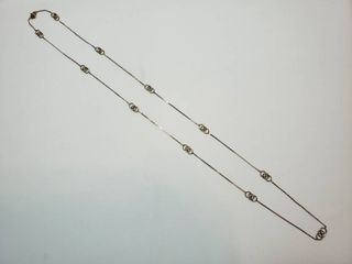 14K Yellow Gold 30 in  Necklace   5 4g
