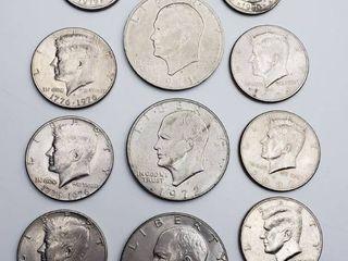 Ike Dollars  Kennedy Half Dollars and Susan B Allen Dollars