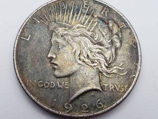 1926 Silver Peace Dollar