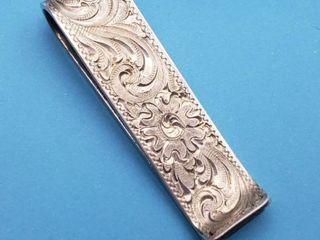 Sterling Money Clip   16 3 grams
