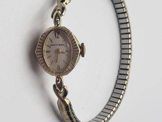 Vintage 14K Ernest Borel ladies Watch