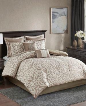 Madison Park Dillon 8 Piece Jacquard Comforter Set Retail 147 79