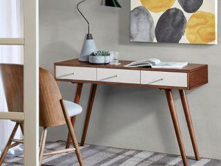 Madison Park Albion 3 Drawer Writing Desk