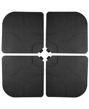 4 Piece Universal Standard Cross Base Umbrella Weights
