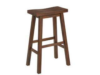 The Gray Barn Vermejo Wire brush Saddle Bar Height Stool