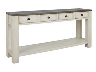Bolanburg Farmhouse Sofa 4 Drawer Table