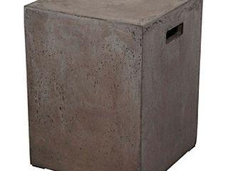 Dimond Home Square Handled Concrete Stool Retail 144 00